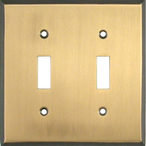 antique brass light switch plates outlet covers wallplates
