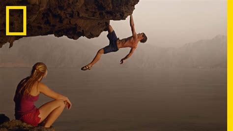Gorgeous Video Rock Climbing Oman Youtube