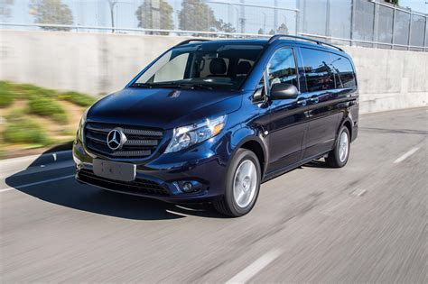 mercedes minivan 2017 mercedes benz metris passenger van first test review