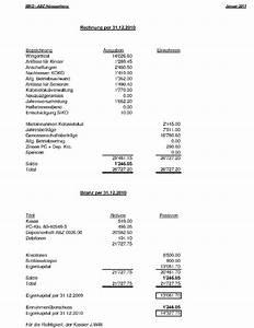 Bilanz Rechnung : jahresversammlung 2011 ~ Themetempest.com Abrechnung