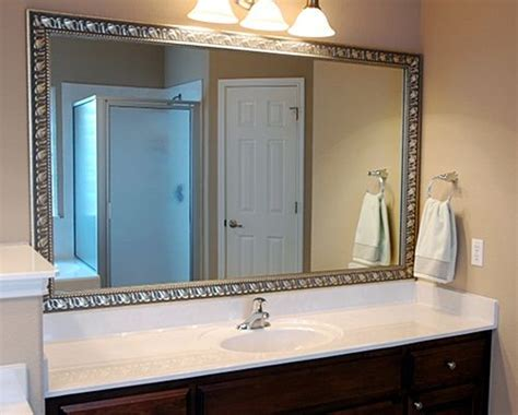 transform your boring mirrors with mirrormate frames