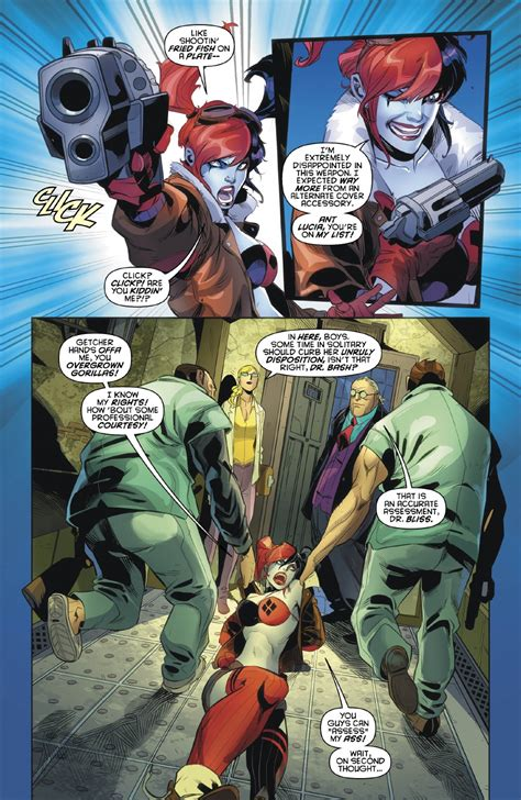 Janin Quinones Preview Vo Harley Quinn Annual 1 Dcplanet Fr