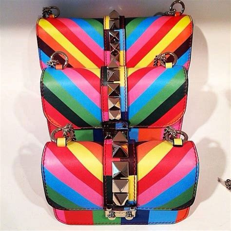 Rainbow-Color Summer Accessories: Colorful Bags, Shoes ...