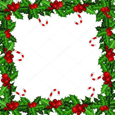 Cornice Immagine Cornice Natale Agrifoglio Vettoriali Stock 169 Bastinda18