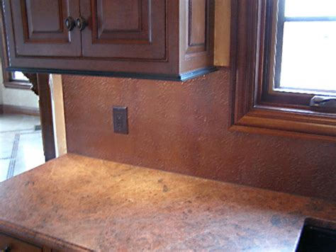 Sheet Backsplash : Copper And Stainless Steel Sheets For