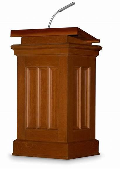 Podium Speaker Guest Clipart Background Church President