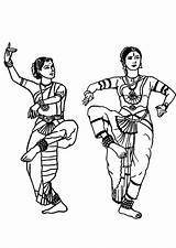 Coloring Pages Dance Drawings Dancing Coloriage Indian Colorier Danser Le Inde Dessin Drawing Linocut Prints Fabric Painting Dessins Coloriages Pencil sketch template