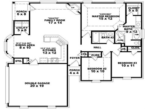 5 bedroom 1 house plans 5 bedroom single house plans two bedroom one