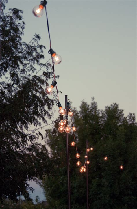 Bright July {diy} Outdoor String Lights
