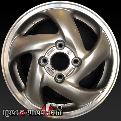 15 quot honda accord wheels oem 1994 1997 silver rims 63803