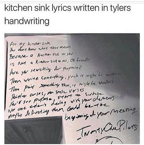 kitchen sink lyrics kitchen sink lyrics drawing liked drawingsellabruhh