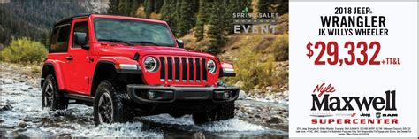 Here at south point dodge chrysler jeep ram, everything we do revolves around you. Nyle Maxwell Chrysler Dodge Jeep Ram | Auto Dealer in ...