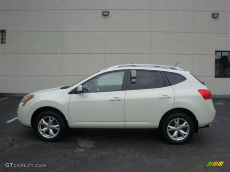 nissan 2008 white 2008 phantom white pearl nissan rogue sl awd 32856488