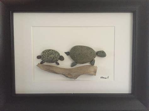 no stone unturned pebble art by dawn turtles pyssel