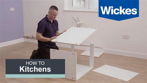 build  kitchen cabinet  wickes youtube