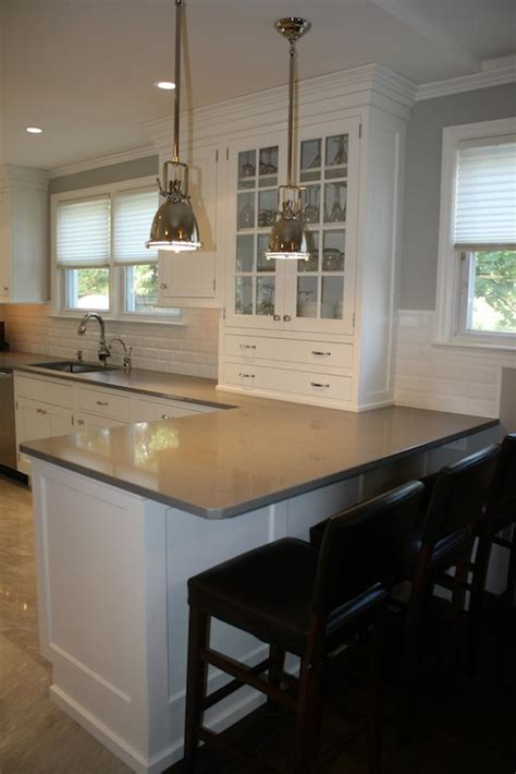 kitchen peninsula transitional kitchen william