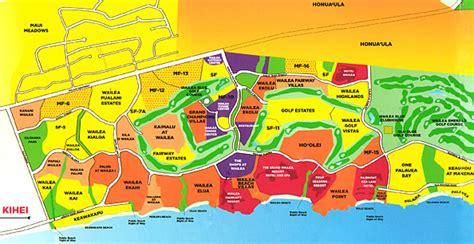 wailea  makena region maps maui tomorrow foundation