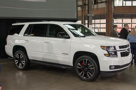 chevrolet adds muscle  tahoe suburban   rst package