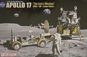 "Review: Apollo 17 ""The Last J-Mission"" CSM+LM+Lunar Rover ..."