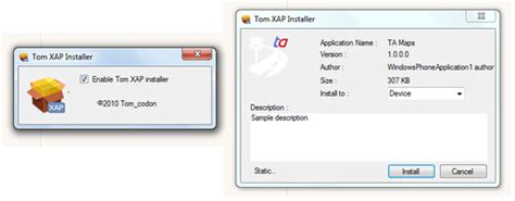 easily install windows phone 7 homebrew apps with xap installer pocketnow