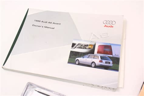 car maintenance manuals 1999 audi a6 electronic toll collection 1999 audi a6 c5 avant wagon owners manual information books genuine carparts4sale inc