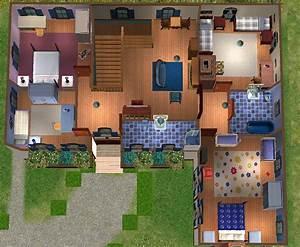 mod the sims maison de campagne With carrelage maison de campagne