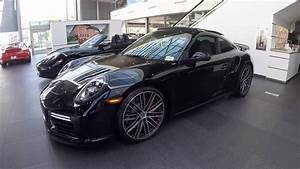 2017 Black Porsche 911 Turbo 540 hp @ Porsche West Broward ...