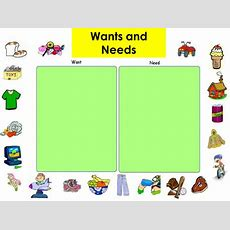 Needs And Wants By Amelia12001  Teaching Resources Tes