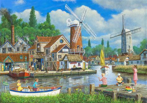 quiet  sleepy fishing village  traditional