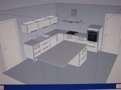 forum construire cuisine avis sur projet implantation cuisine abstrack blanche 23