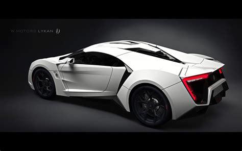 Modern Cars: W Motors Lykan HyperSport 2013