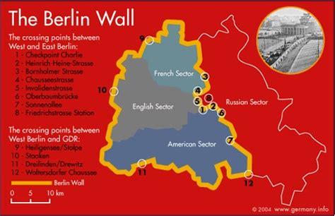 berlin wall map berlin wall east  west berlin