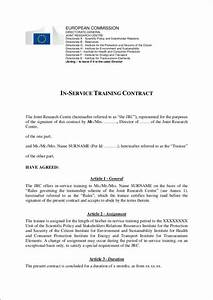 14 training contract samples templates free samples for Exercise contract template
