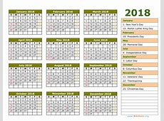 Islamic Calendar 2018 monthly printable calendar