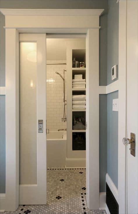 bathroom door ideas 1900 1919 arciform portland remodeling design build