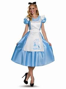 Hase Alice Im Wunderland Kostüm : alice im wunderland kost m deluxe f r damen funidelia ~ Frokenaadalensverden.com Haus und Dekorationen