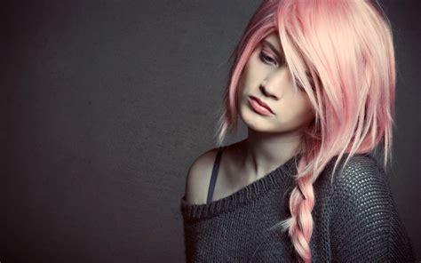 Girl Pink Hair 6960483