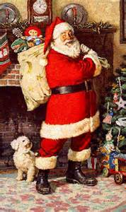 Twas The Night Before Halloween by Vintage Santa Claus Picture Pictures Photos And Images