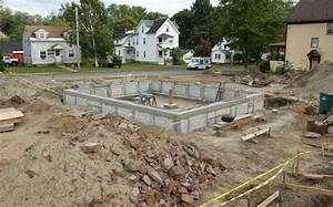 Monolithic Slab Foundation Design Parging House Foundation Garage Stem Wall Forms Design