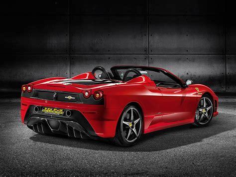 Ferrari F430 Spider  Car Interior Design