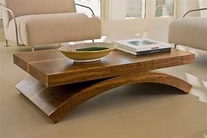 Couchtisch Holz Modern : couchtisch aus holz wundersch ne modelle und bilder ~ Markanthonyermac.com Haus und Dekorationen