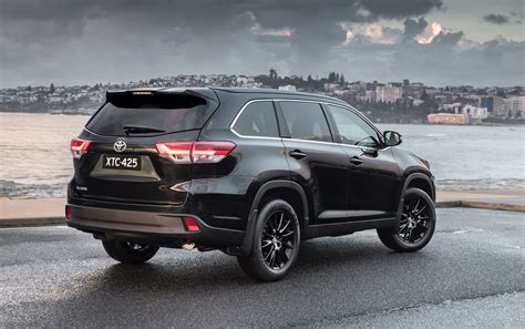 The toyota highlander, also known as the toyota kluger (japanese: Toyota Kluger Black Edition now on sale in Australia ...