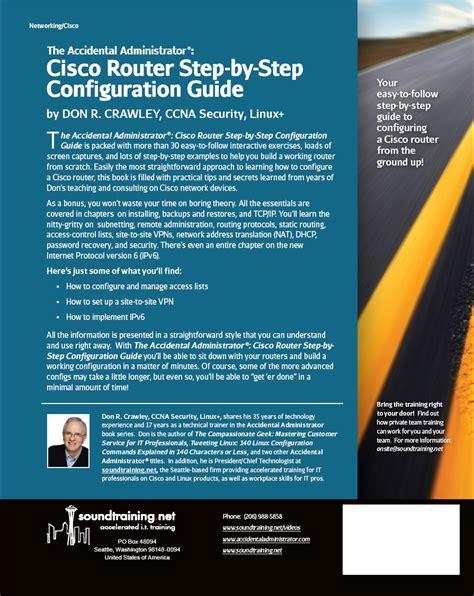configuration bureau tech expert authors cisco router by