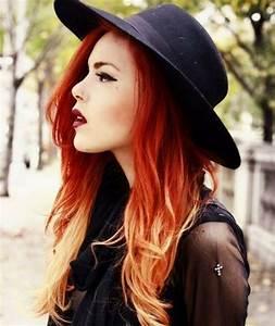 Ombré Hair Rouge : la couleur de cheveux rouge quelle nuance choisir ~ Melissatoandfro.com Idées de Décoration