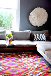 Colorful Living Room Rug