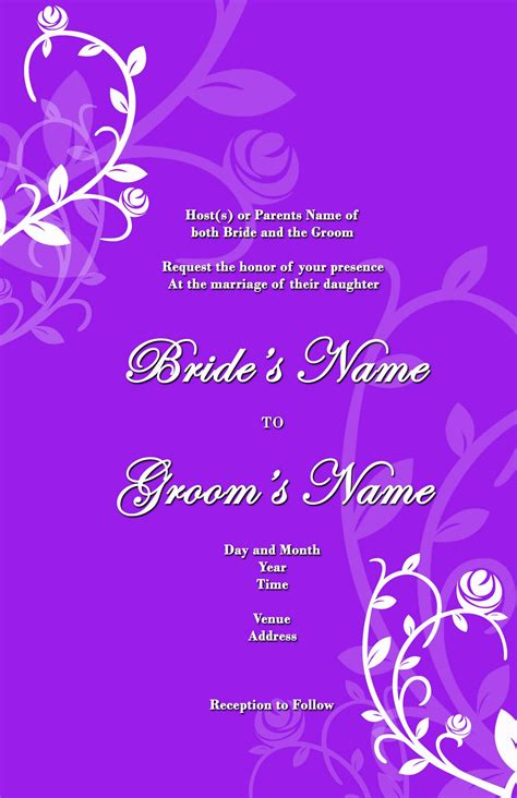 wedding invitation background designs   fun