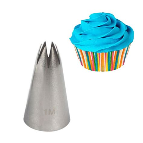 stainless steel piping icing nozzle  cream pastry