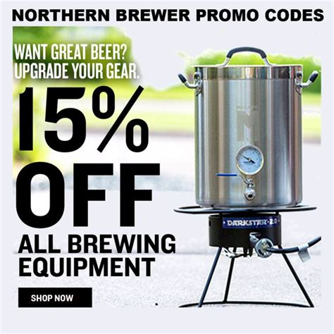 promo code brewing beer equipment homebrewingdeal save