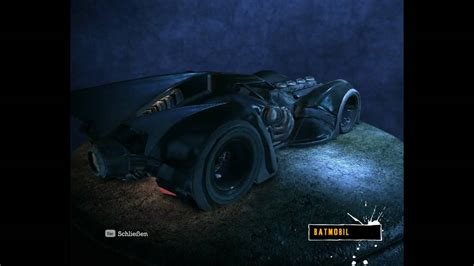 Batman Arkham Asylum  Batmobile Youtube