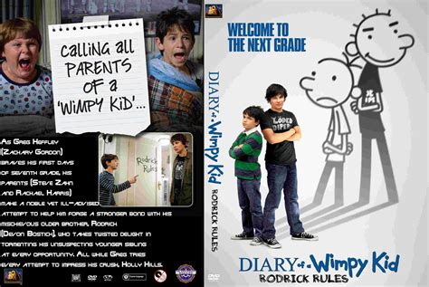 Coversboxsk Diary Of A Wimpy Kid Rodrick Rules 2019